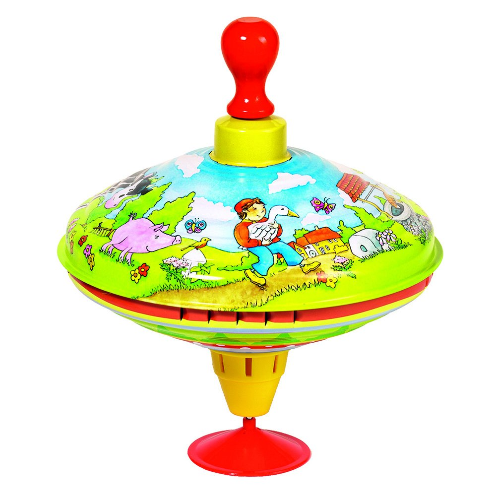 Cause ''Hans in happiness Humming Top with Wooden Handle