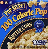 pops corn - Pop Secret 100 Calorie Kettle Corn - 11.2 oz - 10 ct