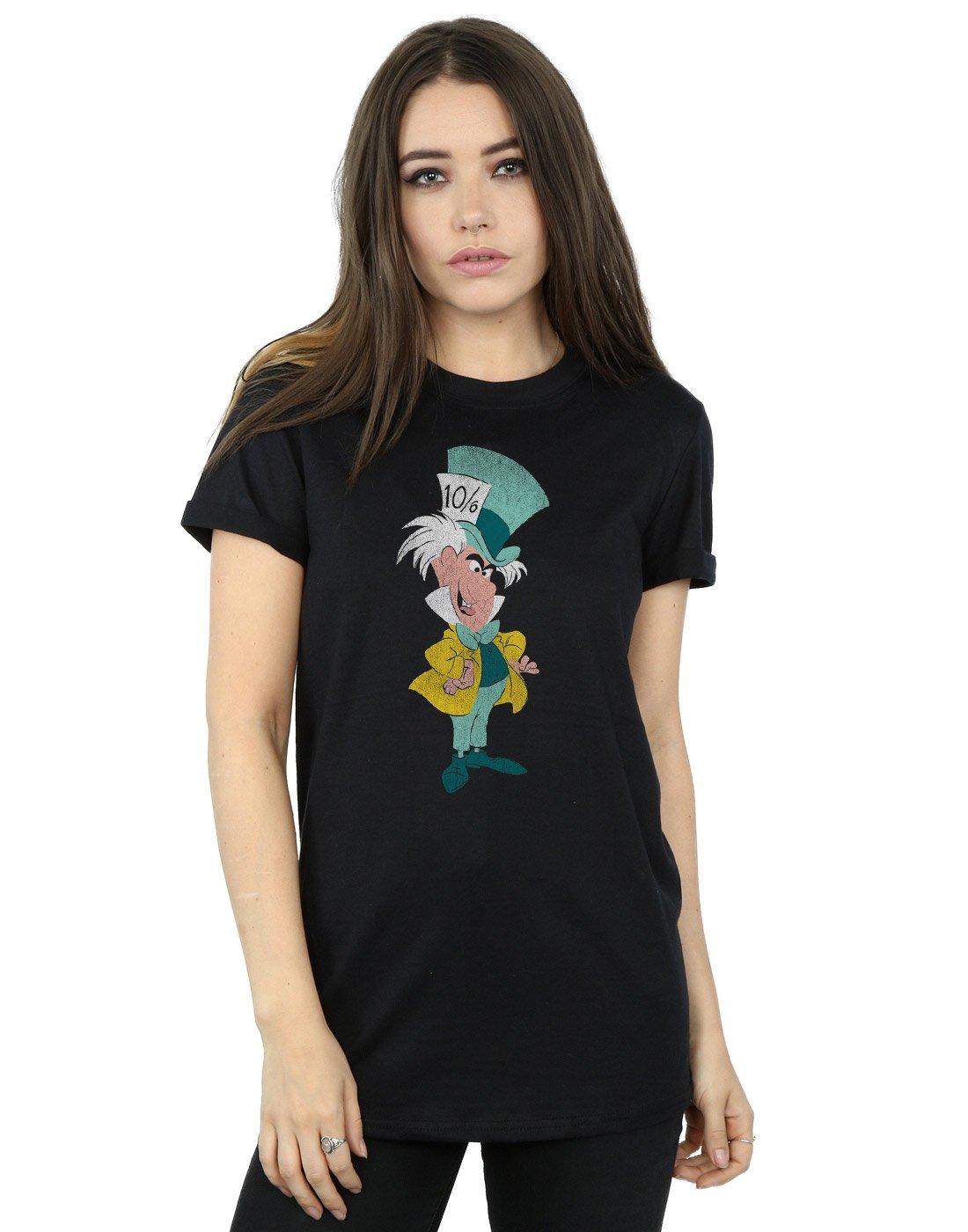 Alice In Wonderland Classic Mad Hatter Boyfriend Shirts