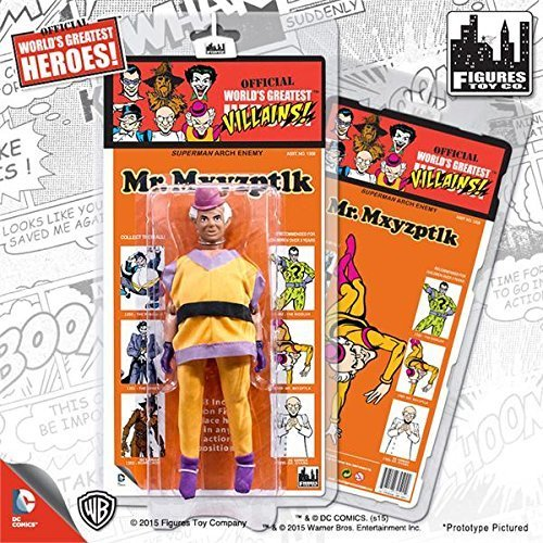 Dc Comics Retro Kresge Style Action Figures Series 1: Mr. Mxyzptlk by Kresge