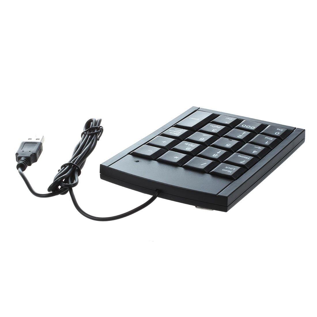 Moligh doll Mini Teclado numerico USB Teclado numerico para Ordenador portatil PC
