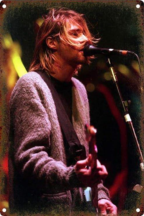 Nirvana Póster De Pared Metal Retro Placa Cartel Cartel De ...