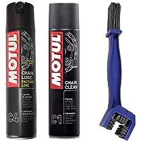 Motul - Kit de limpiador lubricante para cadena