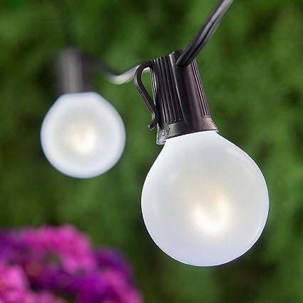 FlexFilament LED Edison Patio Lights U2013 Globe Lights Edison Bulb Patio  Lights LED Vintage Outdoor Patio