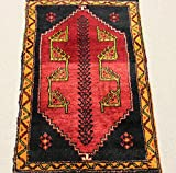 Turkish Vintage Doormat rug 3,2x2,1 feet Area rug Small Carpet Rug Bathroom Rug Home decor Bath Mat Welcom Mat Decorative Rugs