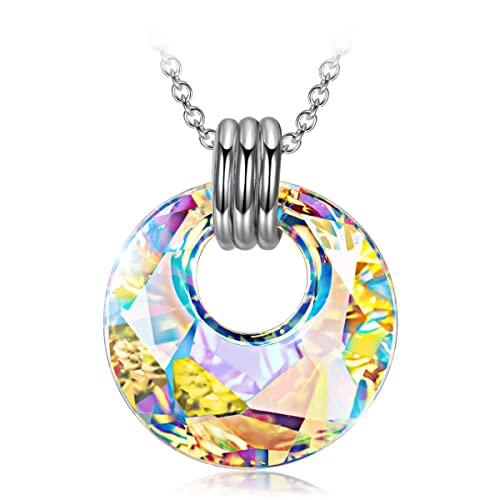 Necklaces For Women Girls Birthday Gifts Mom Daughter Her 925 Sterling Silver Swaorvski Jewelry