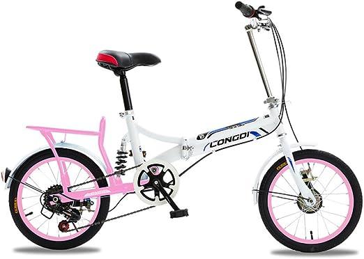 Fenfen Bicicleta plegable para hombres y mujeres de 20 pulgadas ...