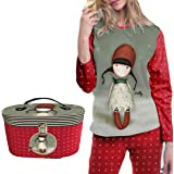 ADMAS - Pijama NIÑA GORJUSS Navidad niñas Color: Rojo Talla: 8