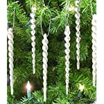 BANBERRY-DESIGNS-Silver-Icicle-Ornaments-Shatterproof-Icicle-Ornaments