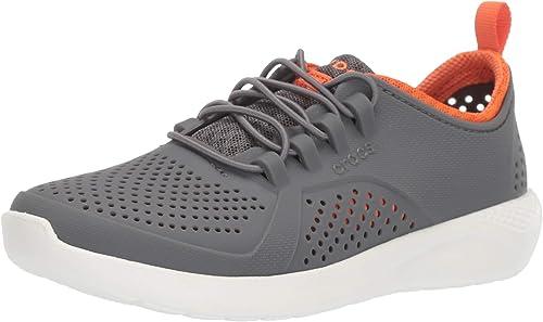 Crocs LiteRide Pacer Sneaker, Charcoal