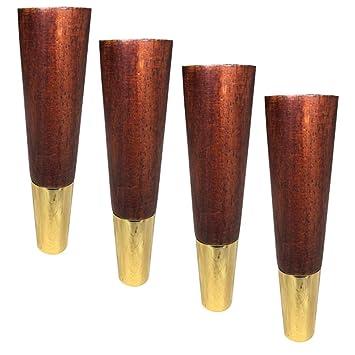 Amazon.com: Patas de madera maciza para muebles, estilo ...