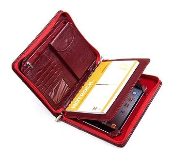 Xiaozhi - Cartera portadocumentos de piel con funda para iPad Mini: Amazon.es: Electrónica
