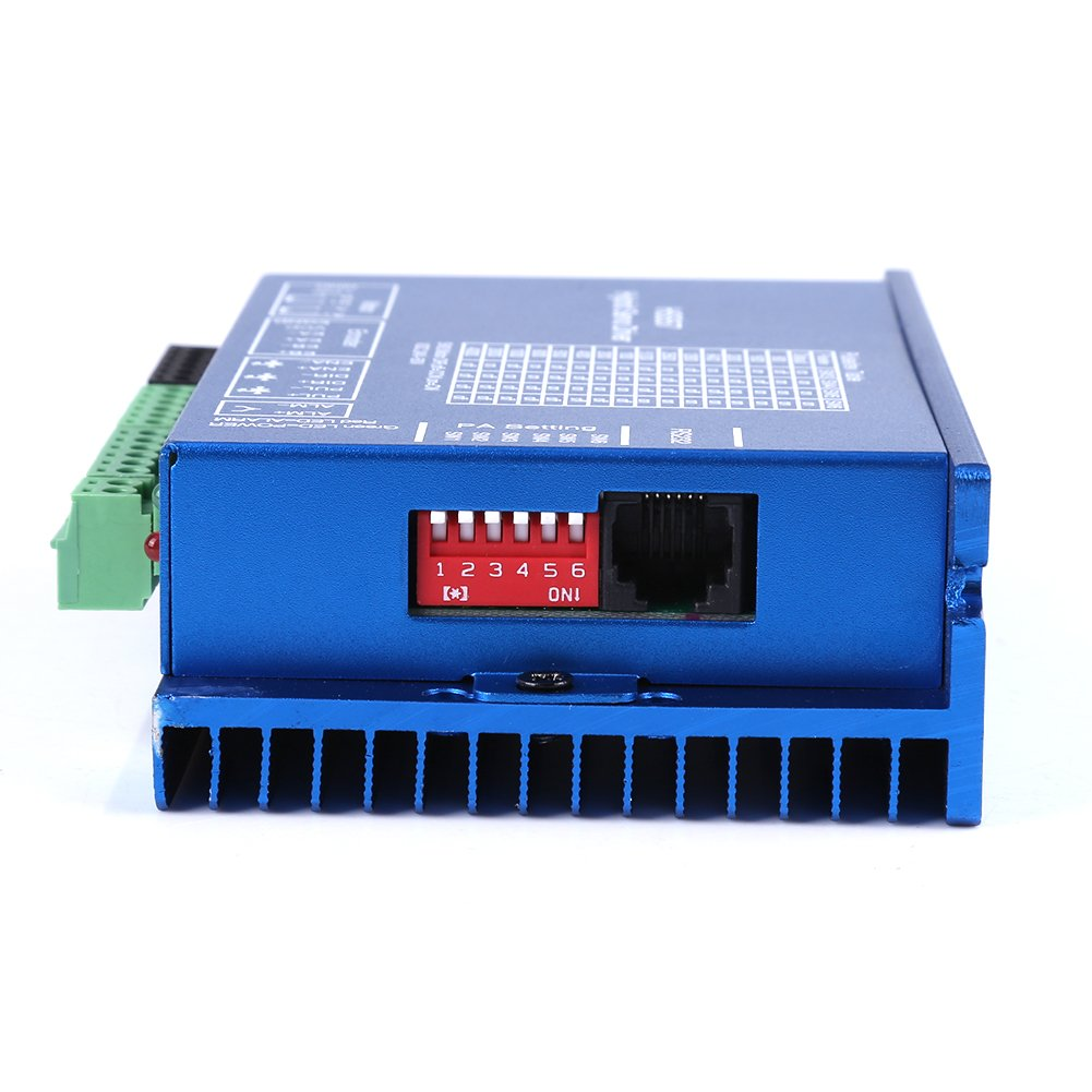 Keenso HSS57ハイブリッドサーボドライバ 57HSE2N-D25 Nema 23閉ループ 2N.mステッピングモータドライバ CNCコントローラキット   B07QS4H8DT