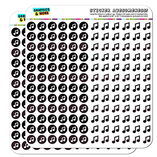 Scrapbooking Stickers Music Notes - 4