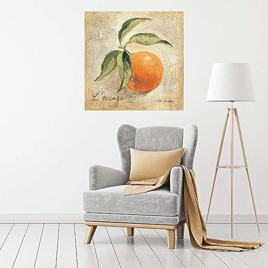 Impresión sobre Lienzo Wall Art Vassileva Silvia L Naranja: Amazon ...
