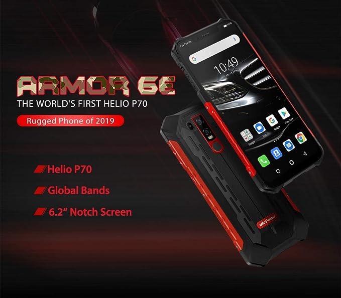 Amazon.com: Rugged Phone Ulefone Armor 6E 4GB + 64GB Android ...