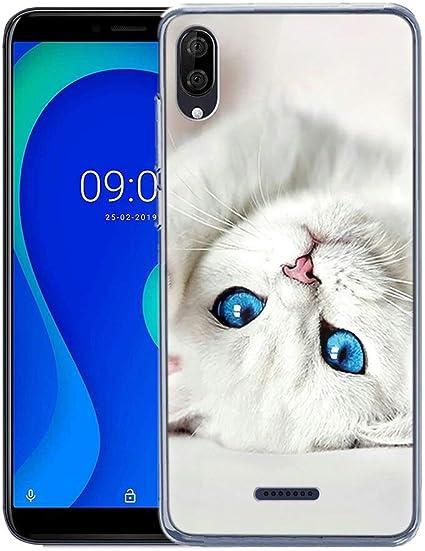 ZhuoFan Coque Wiko Y80, Etui en Silicone 3D Transparente avec Motif Dessin Antichoc Souple TPU Housse de Protection Bumper Case Cover Coque pour ...