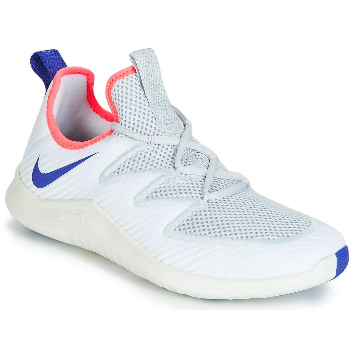 Mehrfarbig (Weiß  Racer Blau  Pure Platinum 160) Nike Herren Free Tr Ultra Fitnessschuhe, Schwarz