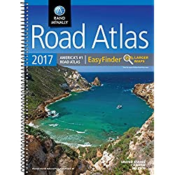 Rand McNally 2017 EasyFinder® Midsize Road Atlas (Rand Mcnally Road Atlas Midsize Easy Finder)