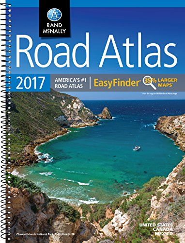 Rand McNally 2017 EasyFinder® Midsize Road Atlas (Rand Mcnally Road Atlas Midsize Easy to Read)