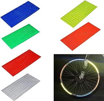 Vevina Parche Fluorescente Reflectante para Bicicleta, diseño de ...