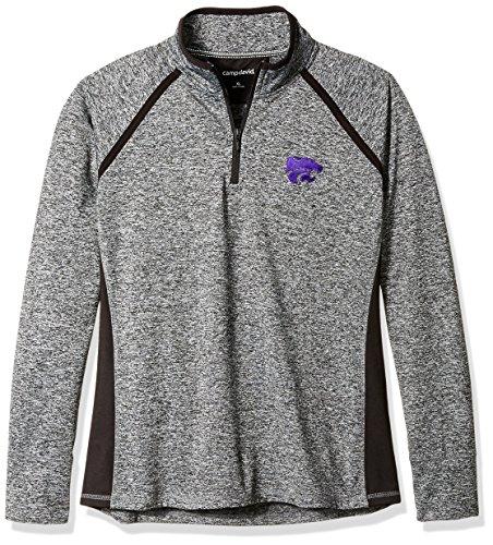 NCAA Finalist Women's Quarter-Zip Pullover Kansas State Wildcats X-Large Static