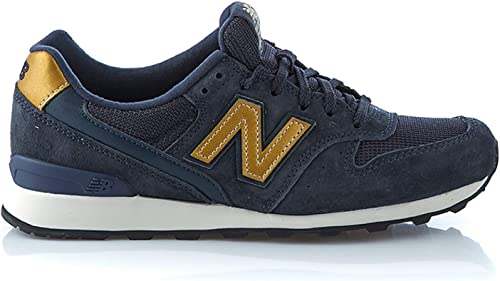 New Balance Damen Sneaker Blau/Gold - US9,5 (41): Amazon.de ...