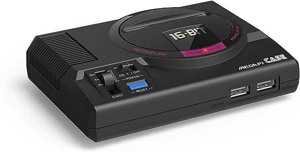 Retrolag MegaPi Case - Funda para Raspberry Pi (3B+, 2B, 3B) Negro MEGA Pi: Amazon.es: Informática