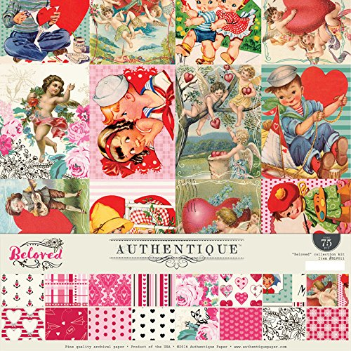 Authentique Beloved Valentine Collection Kit