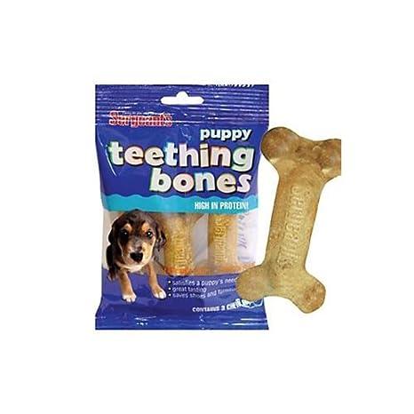 Amazon.com: Sargentos cachorro dentición Bones 3 Pack: Mascotas
