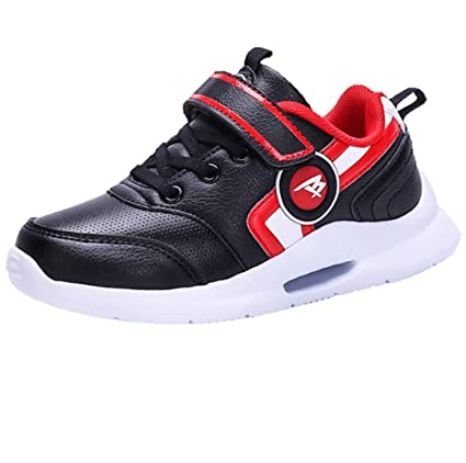 LGXH Breathable Kids Boys Girls Athletic Tennis Running Shoes Anti-Slip  Children Gym Jogging Sneakers 2c3caccf547b