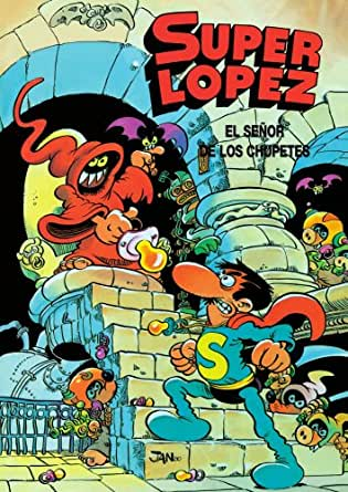 Amazon.com: Superlópez. El Señor de los Chupetes (Spanish ...
