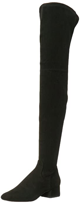 4b7c7826a93 Dolce Vita Women s Jimmy Over The Over The Knee Boot Black Stella Suede 6  Medium US