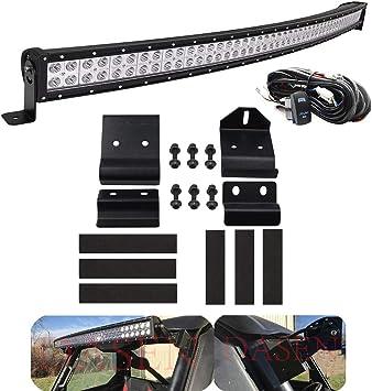 """Polaris Ranger LED Light Bar Roof Mounts Brackets 50/"""" 51 52 for XP 900 1000 SR"""