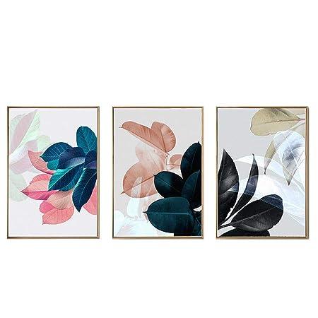 GX Pintura Decorativa 3Pcs / Set, Impresiones En Lienzo ...