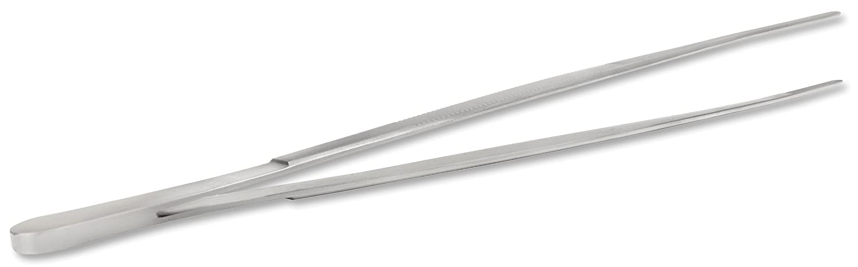 Pinzette professionale in acciaio inox, 30cm di lunghezza   fodera pinzette   cucina pinzette   terrario acquario   antiruggine   Grade Esecuzione VIIRKUJA PIN-30-G