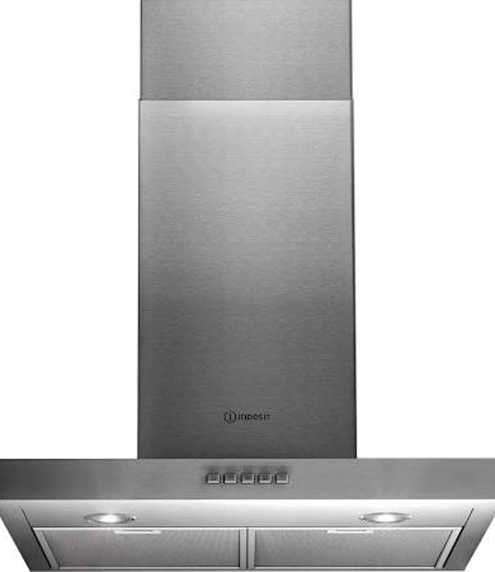Indesit IHT 6.5S C M IX De pared Acero inoxidable 485m³/h C - Campana (485 m³/h, C, F, B, 50 dB, 67 dB): Amazon.es: Hogar
