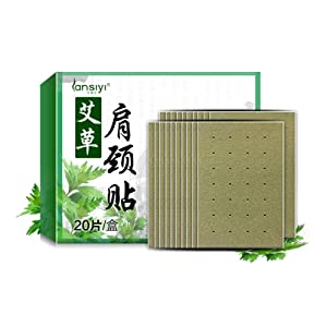 Natural Moxibustion Stickers Pain Relief Patch for Neck & Shoulder & Waist & Leg Moxa Herb Health Care Pad