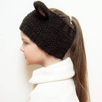 Gorros de invierno para bebés Gorros tejidos de cable para niños ...