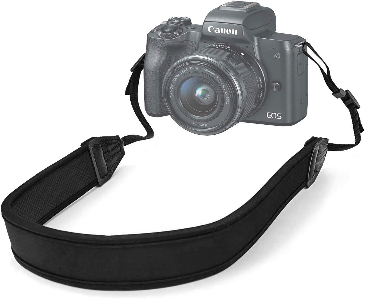 Camera Strap Belt Adjustable Length Anti-Slip Soft Pad Nylon Breathable Camera Strap for SLR//DSLR Cameras Nfudishpu Fast Action Camera Shoulder Strap