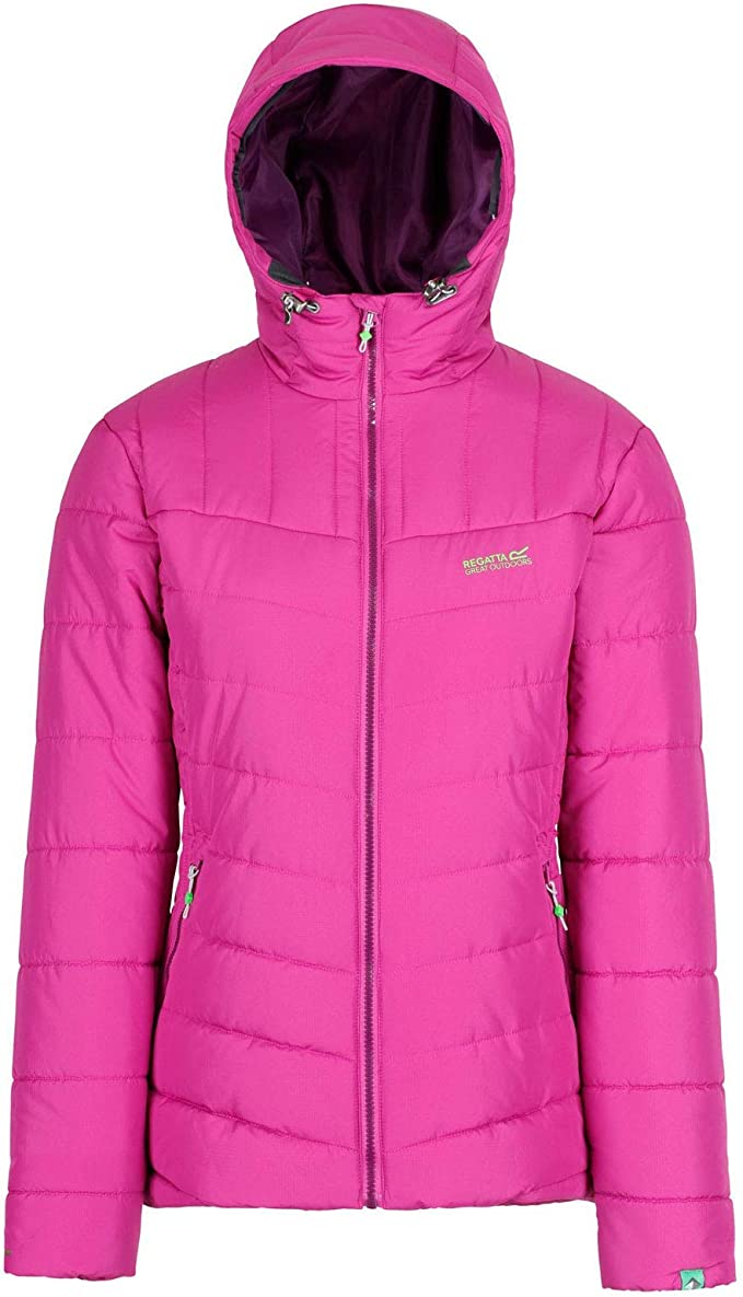 Regatta Womens Nevado Ii Water Repellent Insulated Hooded Jacket