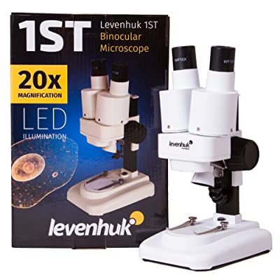 Levenhuk 1ST Kids Stereo Microscope for Observing The Structure of Stones, Coins and Other Objects: Toys & Games