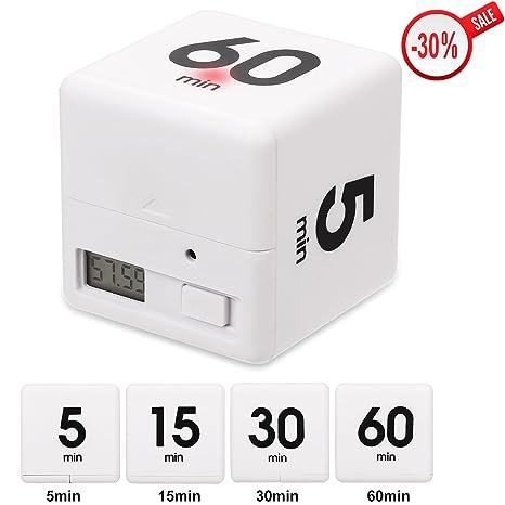 Más Simple cubo de blancos automático temporizador de cuenta regresiva para cocina cocinar intermitente pitido inusual ...