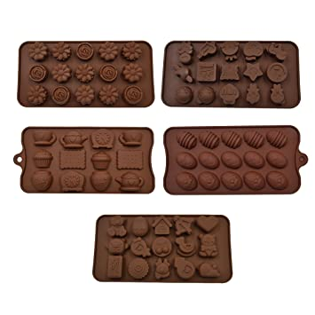 Forma de dibujos animados Hippih moldes de dulces, moldes de Chocolate, moldes de jabón