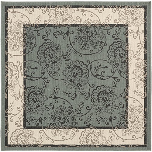 Rhoda Green Indoor / Outdoor Area Rug 7'3