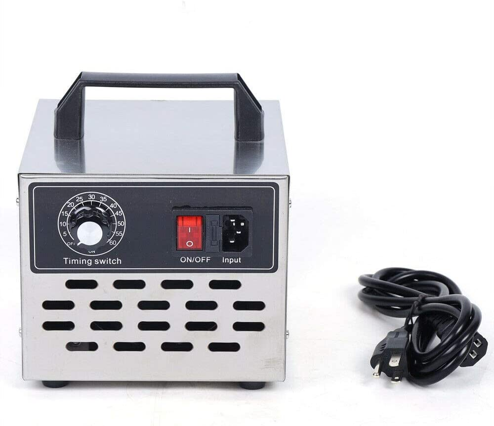Commercial Ozone Generator 10000mg / h High Capacity O3 Air Purifier, Ozonator and Ionizer for Home, Car, Workshop
