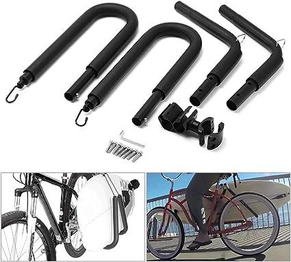 KKmoon Porta Tablas Surf para Bicicleta, Bastidor de Tablas de ...