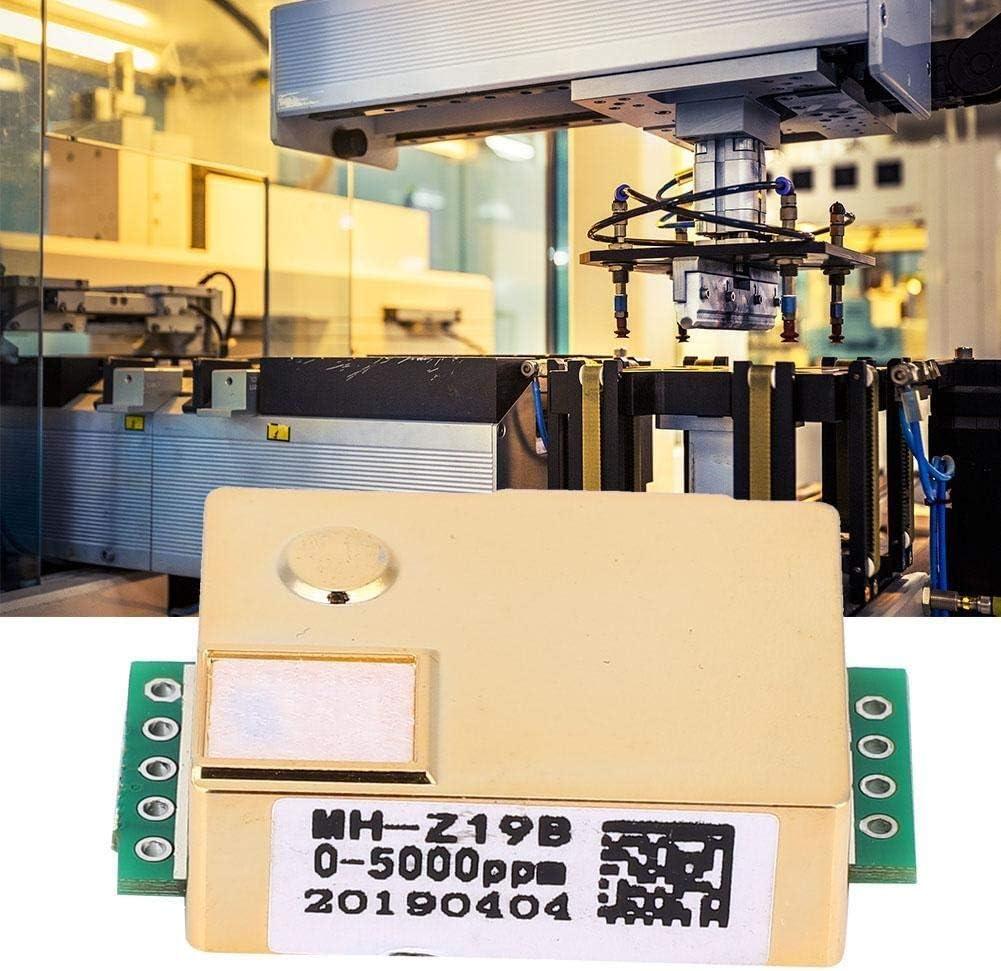 BiuZi CO2-Sensormodul 1Pc MH-Z19 Kohlendioxid-Gassensor Serielle Schnittstelle PWM NDIR Infrarot-CO2-Sensormodul