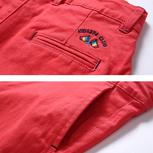 BASADINA Boys Shorts School Uniforms – Casual Cargo Shorts for Boys 6 Color 5-14 Years by BASADINA (Image #3)