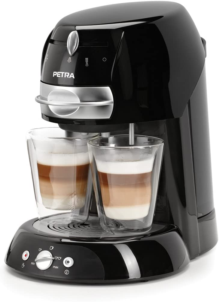 Petra Electric Km 42.17 - Coffee pad maker, 1600 W, color negro: Amazon.es: Hogar